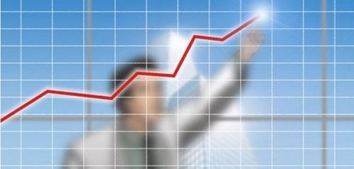 שוק ההון - גרף עולה